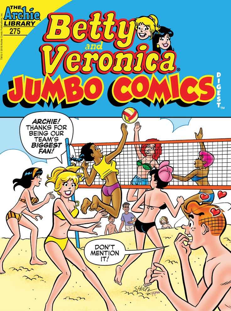 BETTY & VERONICA JUMBO COMICS DIGEST #275