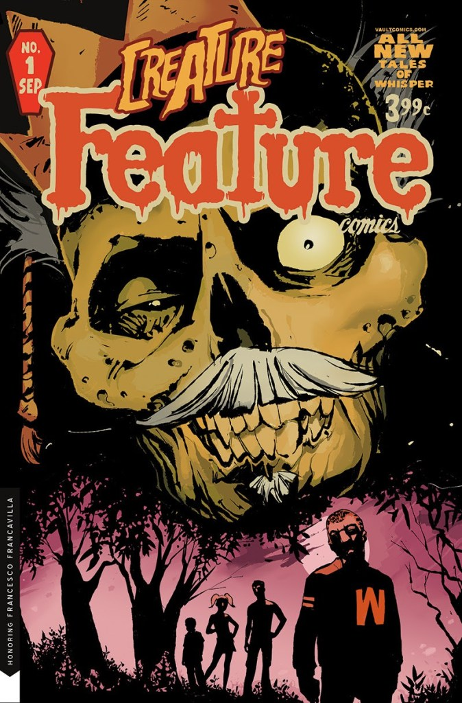 Cult Classic: Creature Feature #1 Vault Vintage Cover