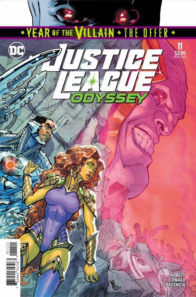Justice League Odyssey #11