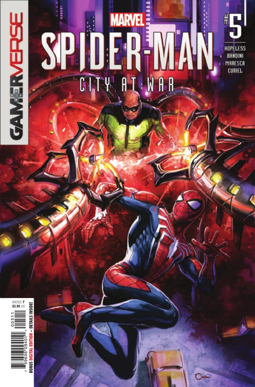 Marvel's Spider-Man: City at War #5 (of 6)
