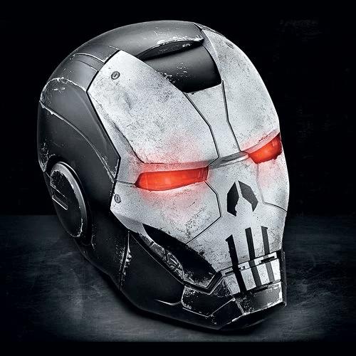 Marvel Legends Gamerverse Punisher War Machine Helmet Prop Replica