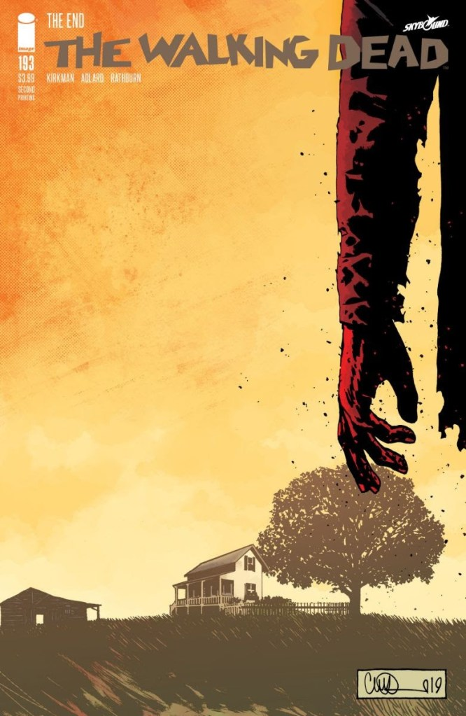 The Walking Dead #193 2nd printing