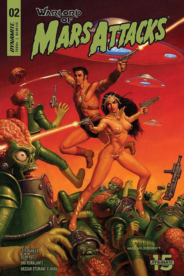 Warlord of Mars Attacks #2