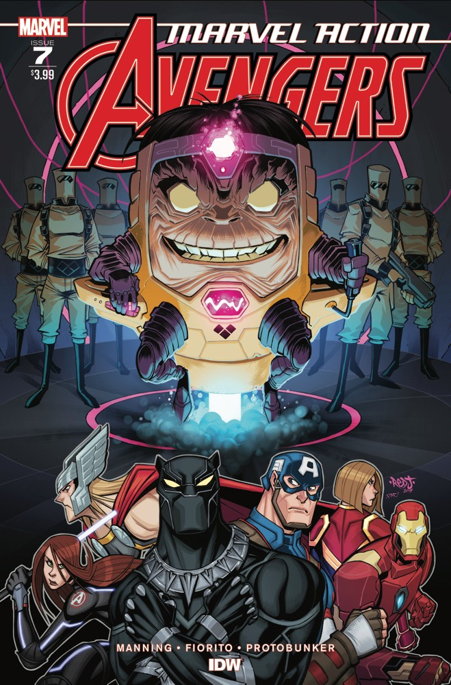 Preview: Marvel Action: Avengers #7