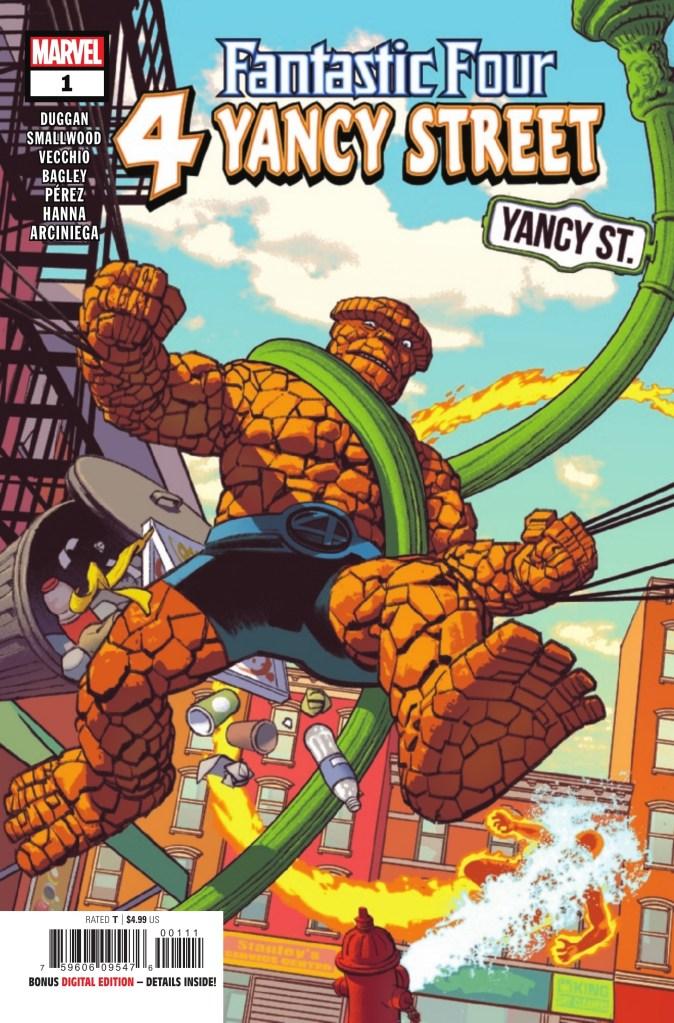 Fantastic Four: 4 Yancy Street #1