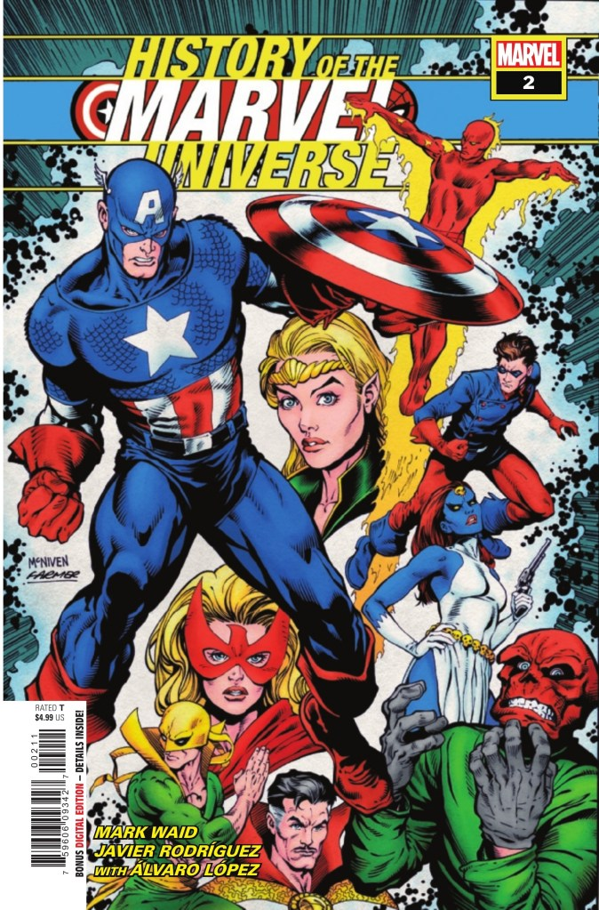 History of the Marvel Universe #2 (of 6)