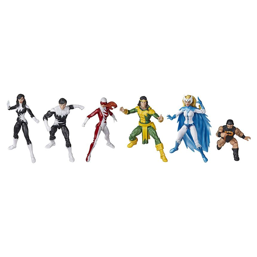 MARVEL LEGENDS SERIES 6-INCH APLHA FLIGHT 6-Pack figures