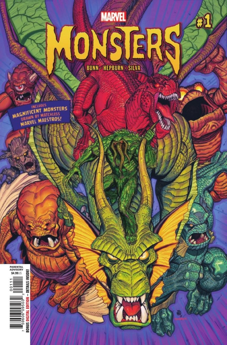 Marvel Monsters #1