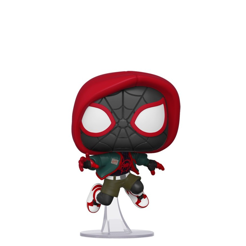 PREVIEWS Exclusive Pop! Marvel Into the Spiderverse Casual Miles Morales Vinyl Figure