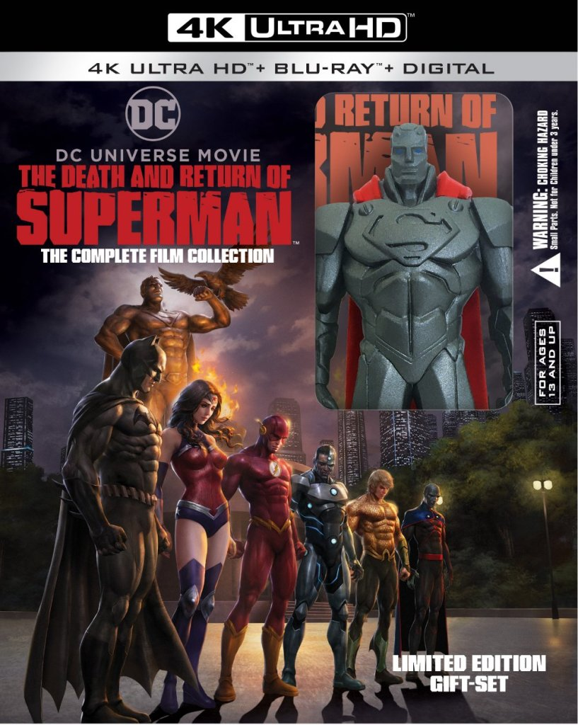 The Death and Return of Superman Complete Film Collection Gift Set
