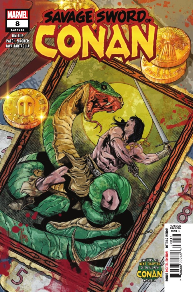 Savage Sword of Conan #8