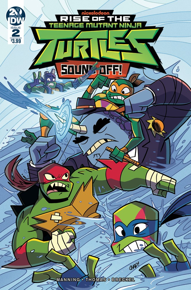 Teenage Mutant Ninja Turtles: Rise of the TMNT: Sound Off! #2