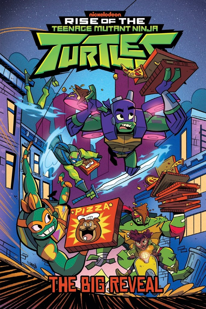 Rise of the Teenage Mutant Ninja Turtles Vol. 2 Big Reveal