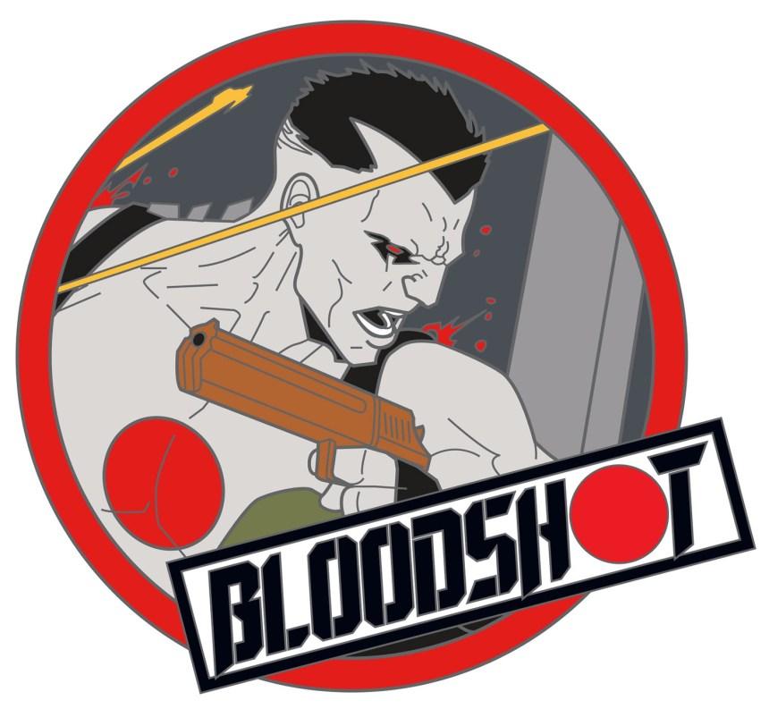 BLOODSHOT 2019 PIN #2