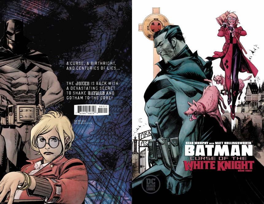 Batman: Curse of the White Knight #3 (of 8)