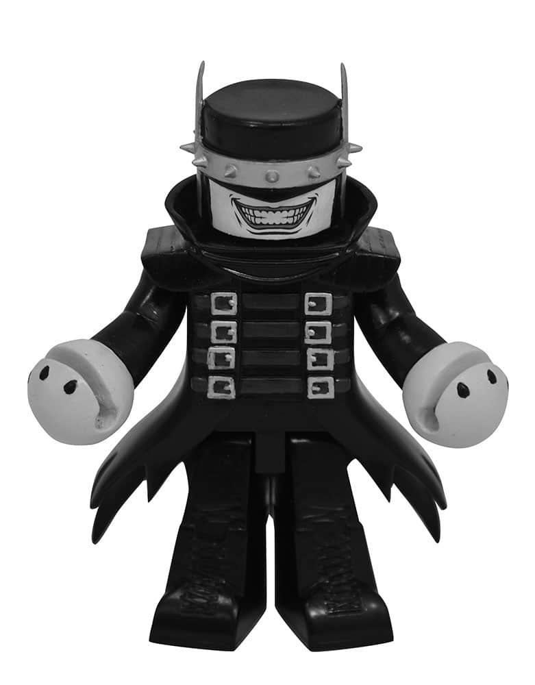 DC Comic Vinimates Batman Who Laughs Black-and-White Vinyl Figure