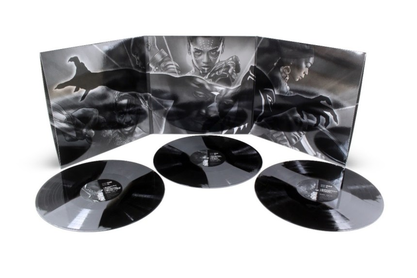 Black Panther Original Motion Picture Soundtrack 3XLP