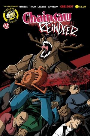 Chainsaw Reindeer