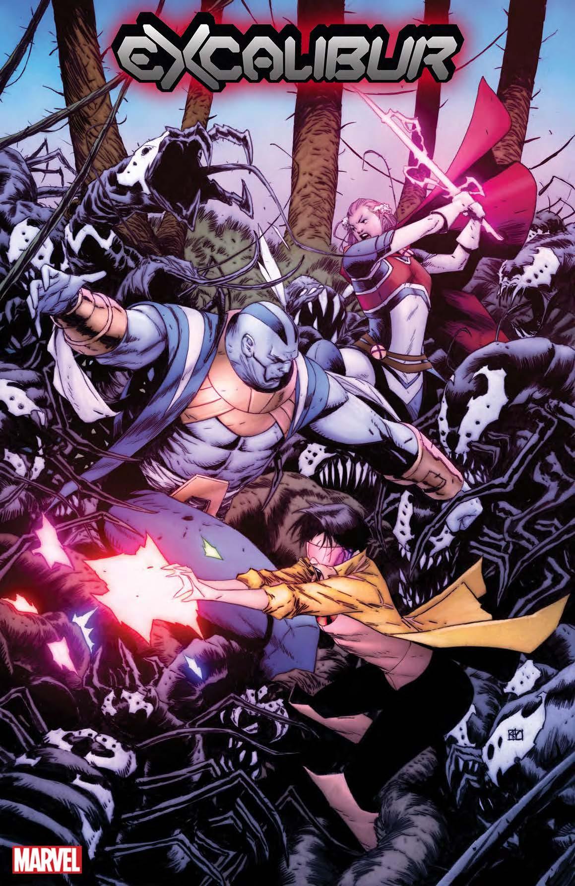 The X-Men Head to Venom Island in New Variants