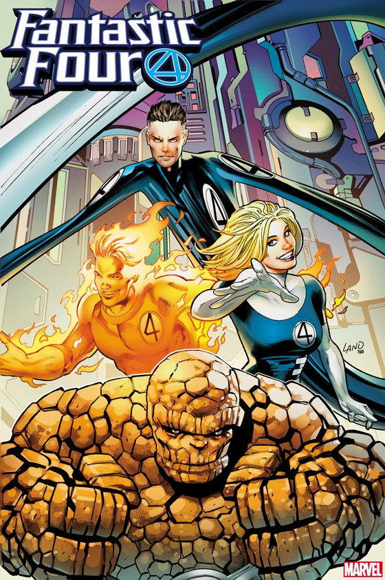 FANTASTIC FOUR #16 2099 VARIANT by GREG LAND