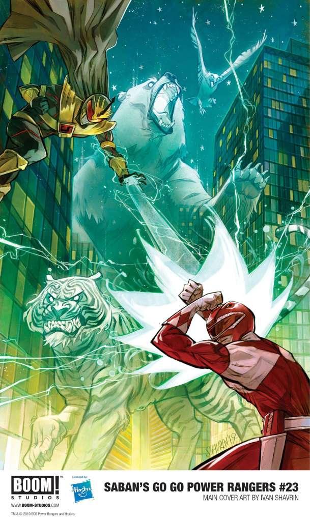Saban's Go Go Power Rangers #23