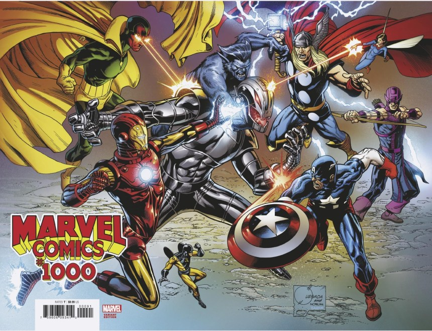 MARVEL COMICS #1000 wraparound variant