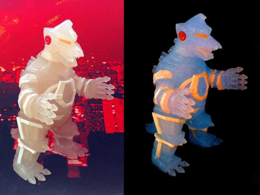 Godzilla VInimates Mechagodzilla Glow-In-The-Dark Vinyl Figure