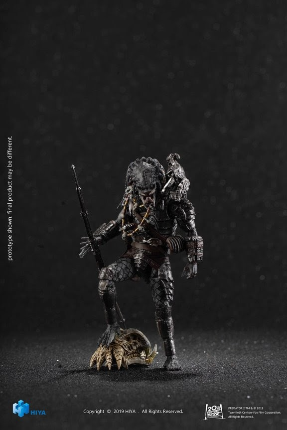 PREVIEWS Exclusive Predator 2 Elder Predator V2 1/18 Scale Figure