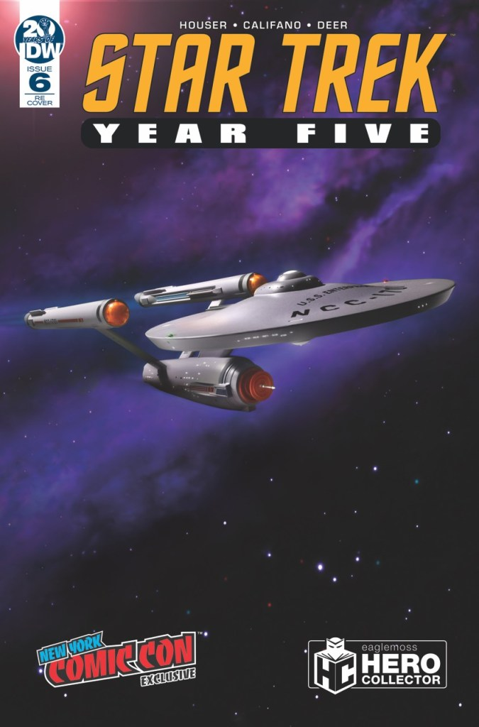 Star Trek: Year Five #6 NYCC Exclusive