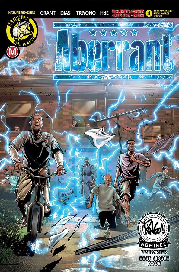 ABERRANT #4 Baltimore Comic Con variant