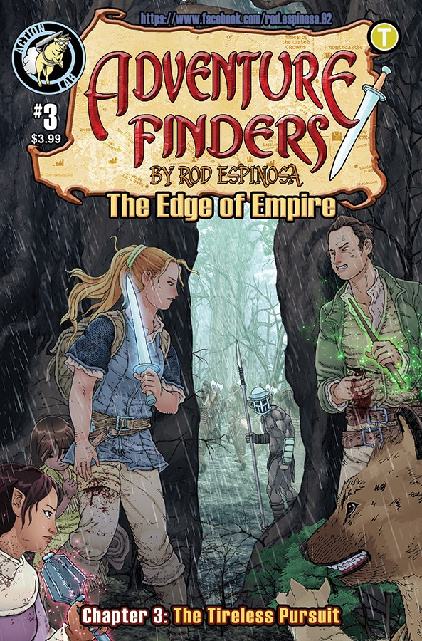 ADVENTURE FINDERS: THE EDGE OF EMPIRE #3