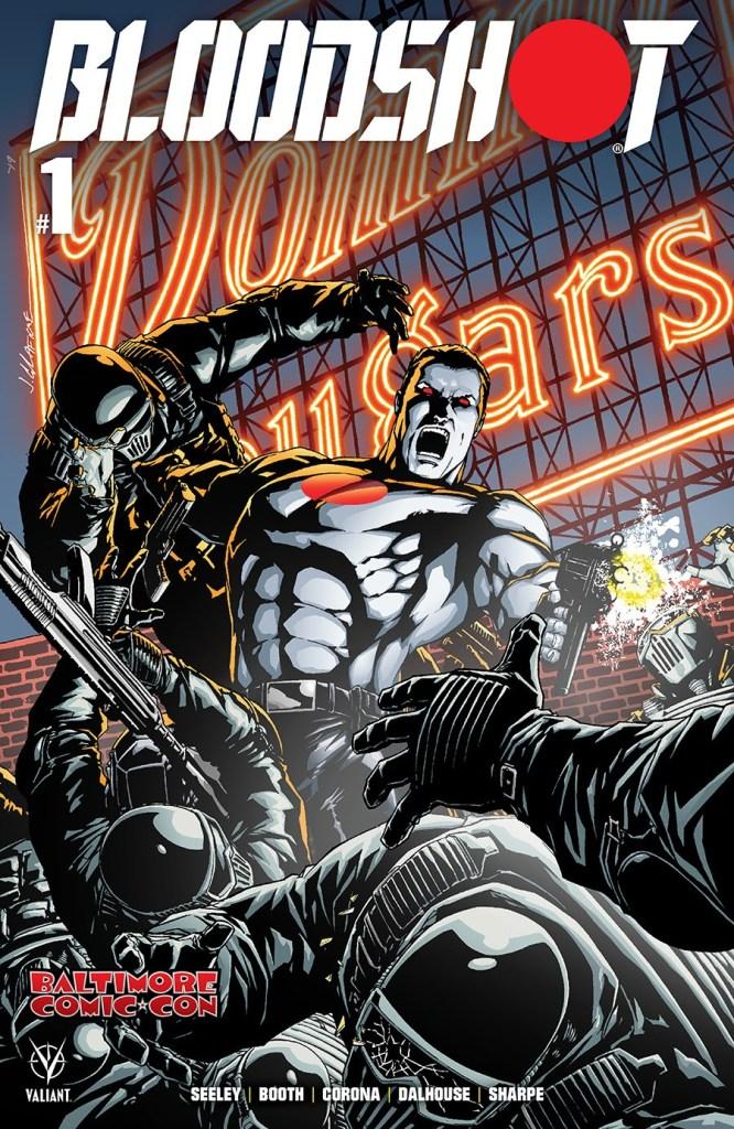 Bloodshot #1 Baltimore Comic-Con Exclusive Cover