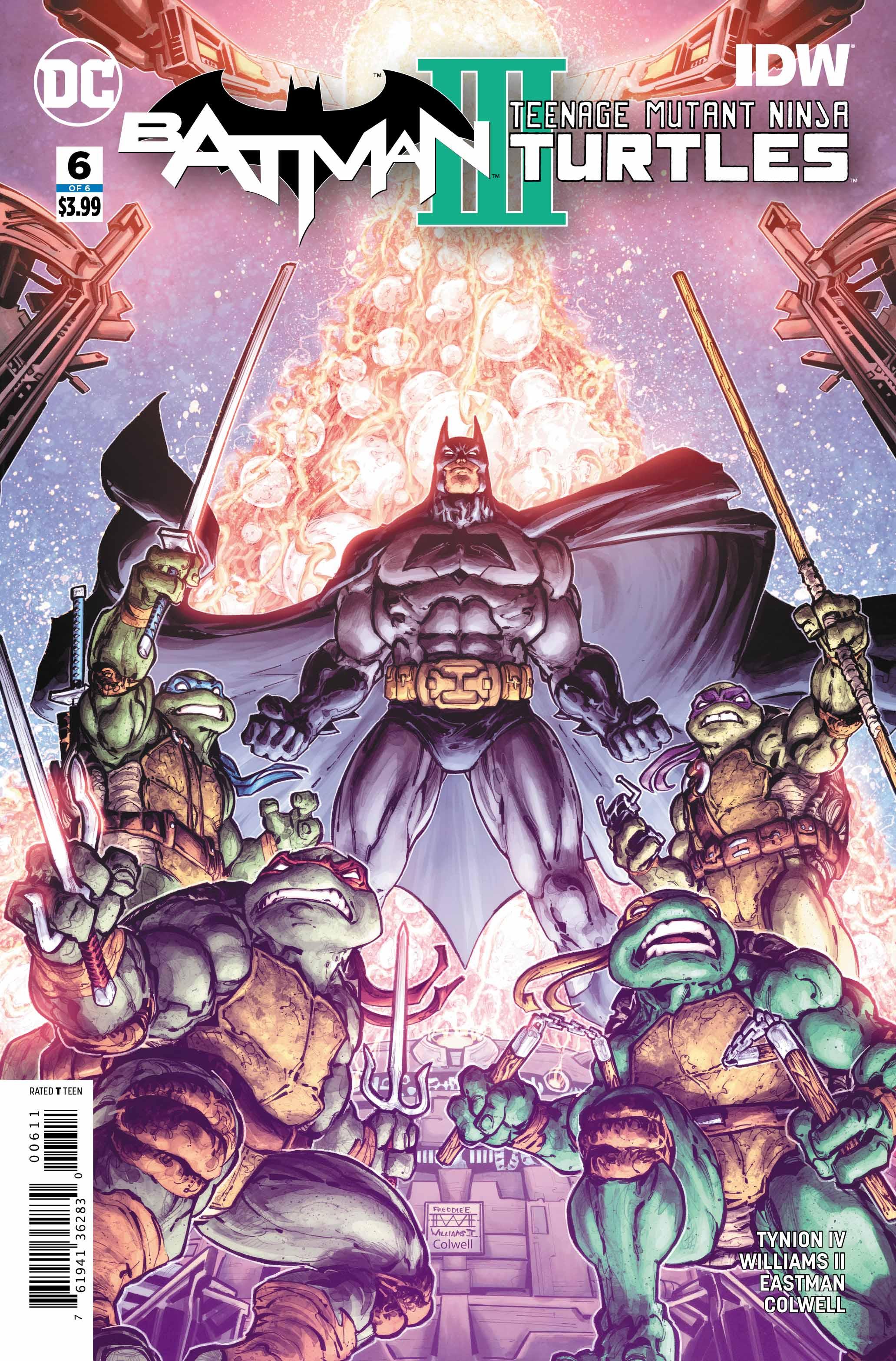 Preview: Batman/Teenage Mutant Ninja Turtles III #6 (of 6)