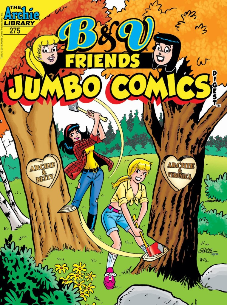 B&V FRIENDS JUMBO COMICS DIGEST #275