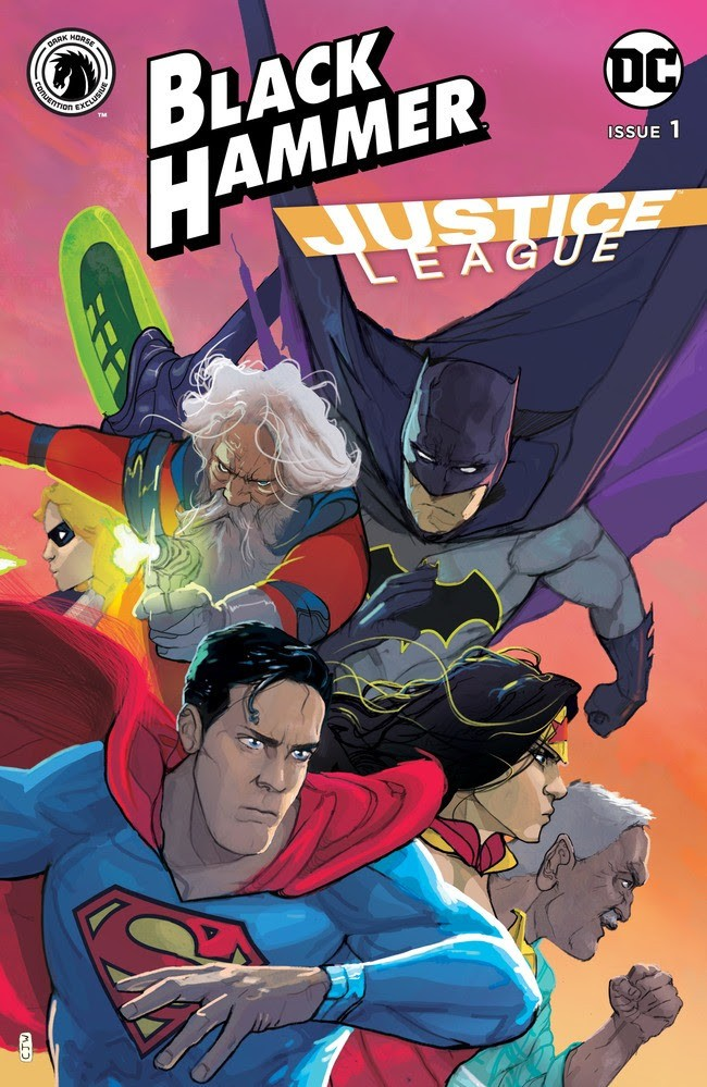 Black Hammer/Justice League: Hammer of Justice! #1 Convention Exclusive (Christian Ward)
