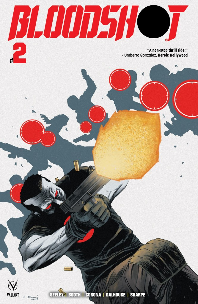 Bloodshot #2 Second Printing