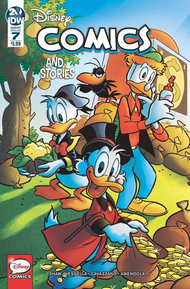 Disney Comics and Stories #7