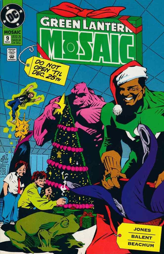 Green Lantern Mosaic #9