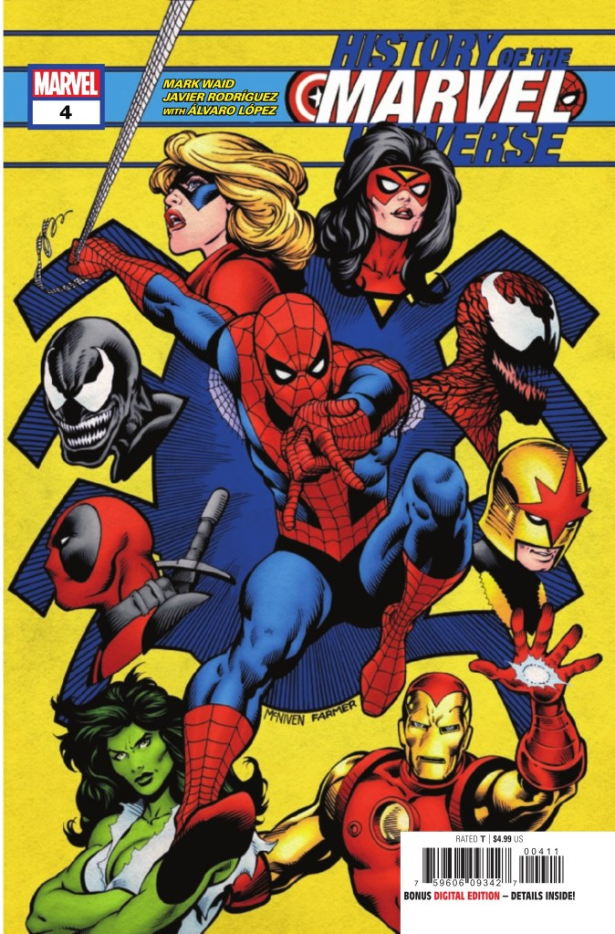 History of the Marvel Universe #4 (of 6)