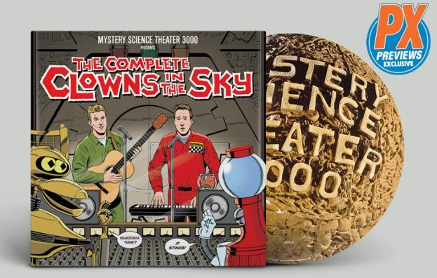 PREVIEWS Exclusive MST3K Clowns in the Sky Soundtrack