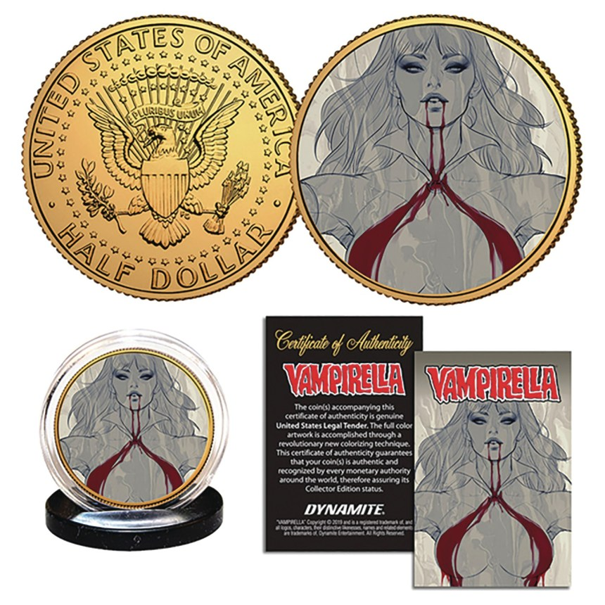 "Vampirella Stanley ""Artgerm"" Lau Collectible Coin"