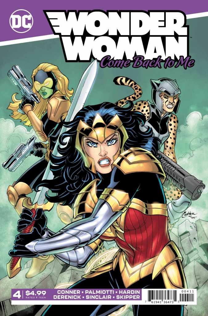 Wonder Woman: Come Back to Me #4 (of 6)