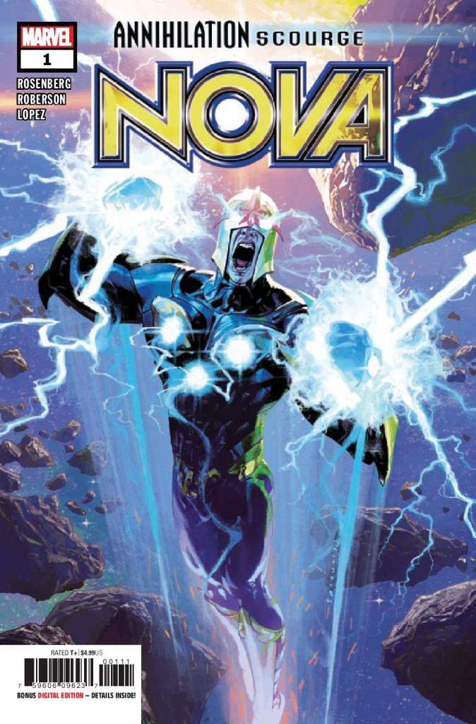 Annihilation Scourge: Nova #1