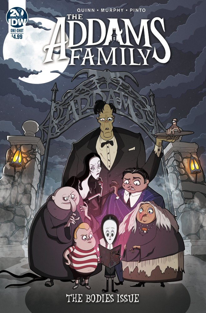 The Addams Family: The Bodies Issue
