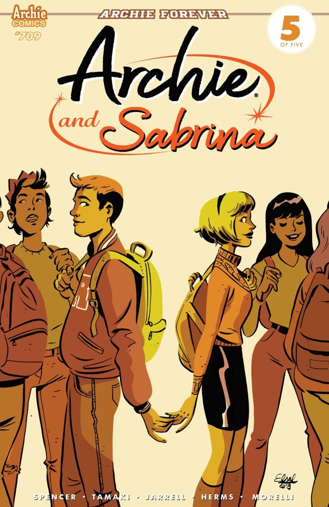 ARCHIE #709: ARCHIE AND SABRINA 5 (of 5)