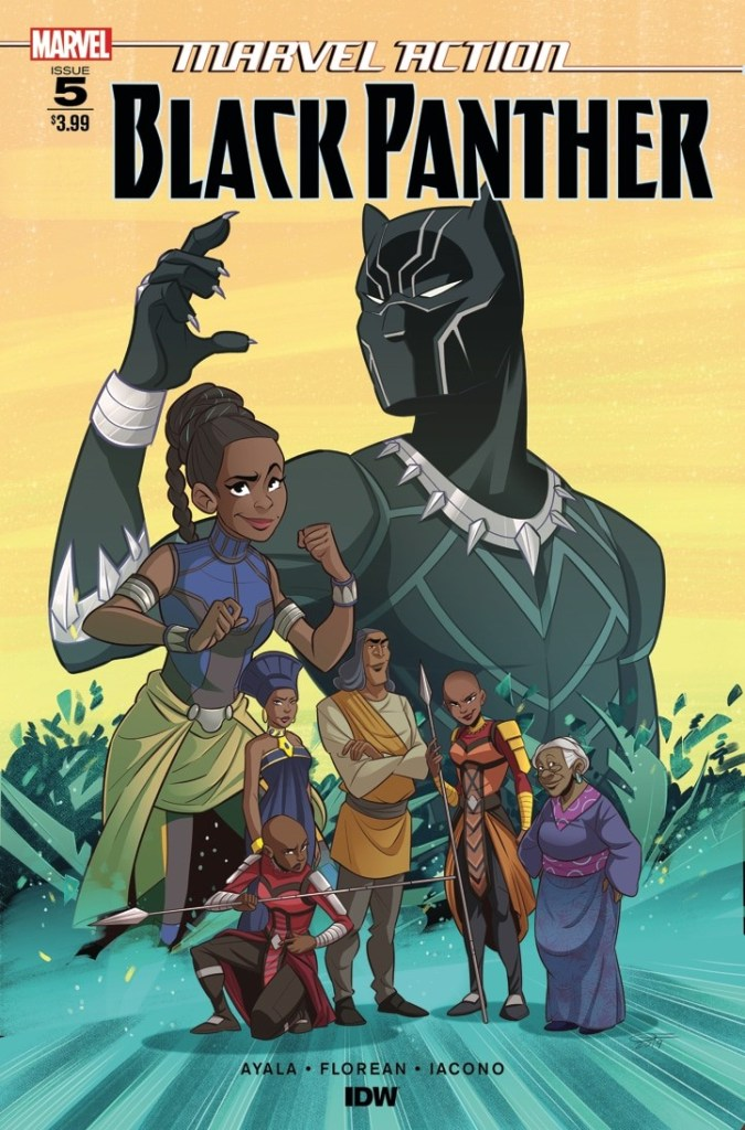 Marvel Action: Black Panther #5