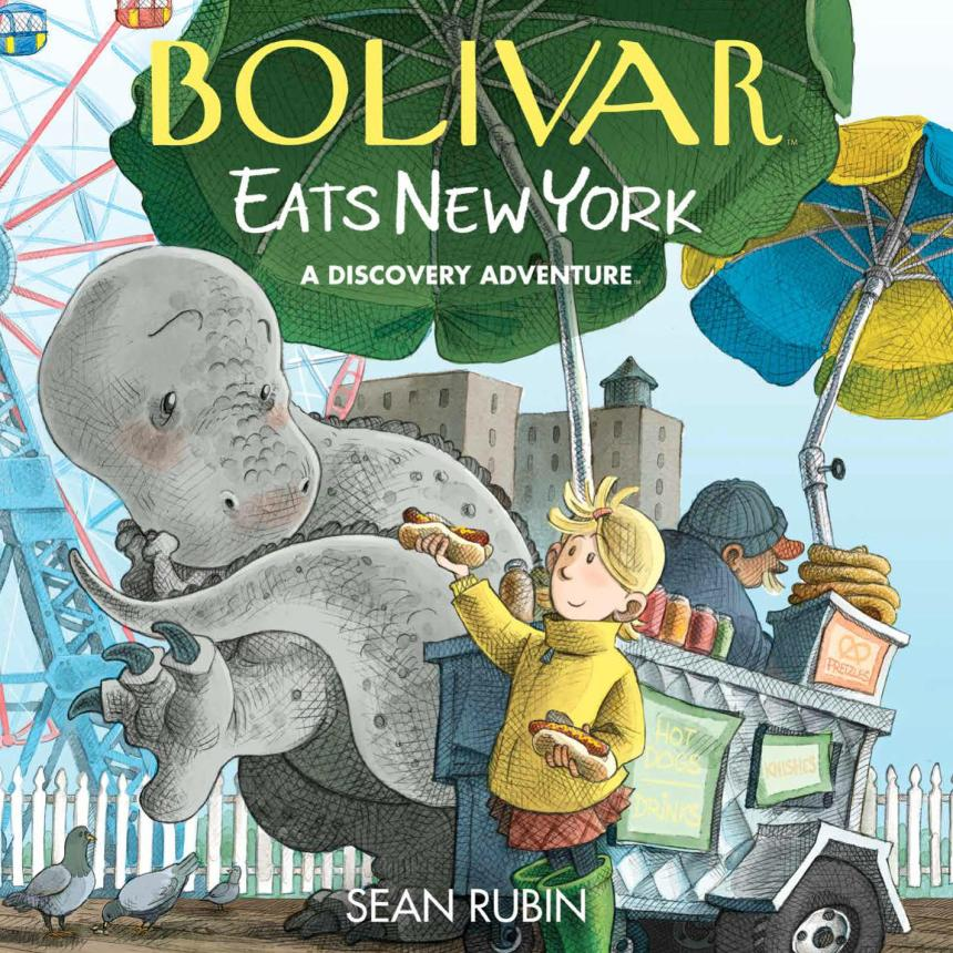 Bolivar Eats New York: A Discovery Adventure HC