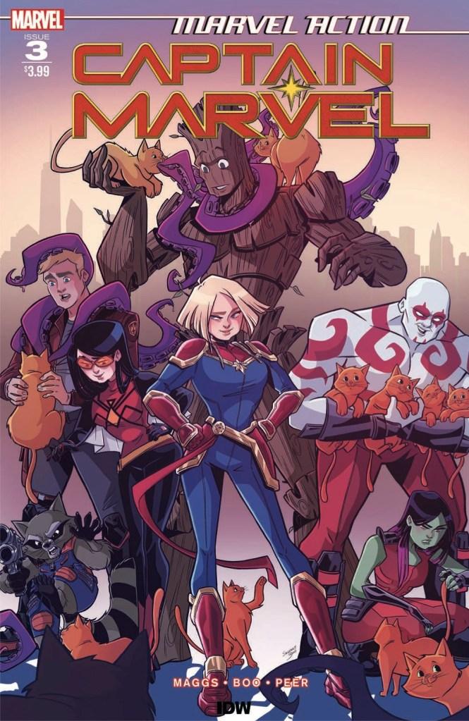 Marvel Action: Captain Marvel #3