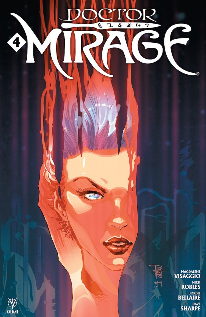 DOCTOR MIRAGE #4 (of 5)