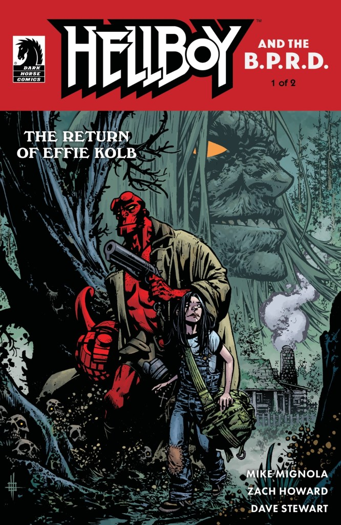 Hellboy & The B.P.R.D.: The Return of Effie Kolb cover